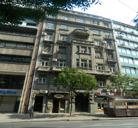 Authentic Belgrade Centre Hostel Building Featured image