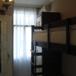 Authentic Belgrade Centre Hostel - Room for two with bunk beds, TV and shared bathroom