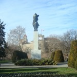 Fortresss Kalemegdan - Monument dedicated to the French-Serbian Friendship