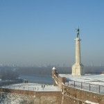 Fortress Kalemegdan - Romantic Landscape under the Snow