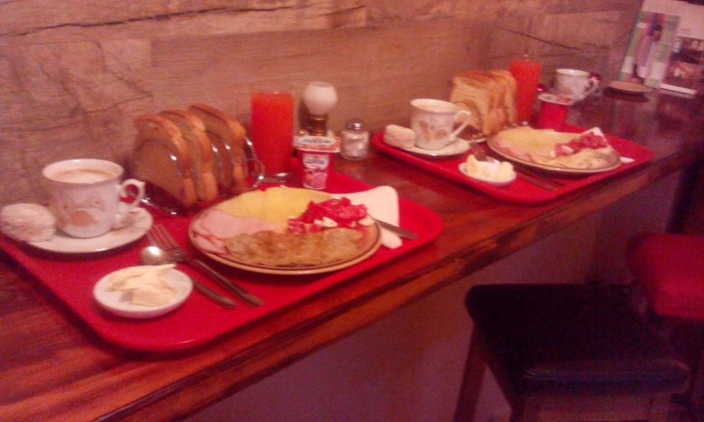 Authentic Belgrade Centre Hostel Our breakfast
