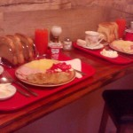 Authentic Belgrade Centre Hostel Our breakfast