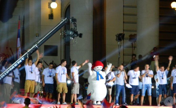 Visitez Belgrade Accueil des champions du monde de waterpolo 5