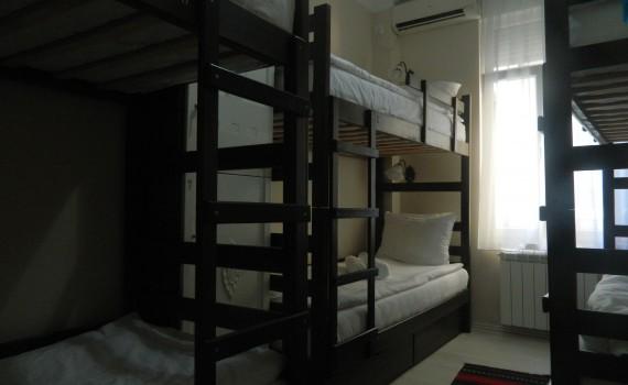 Authentic Belgrade Centre Hostel Mixed 6-bed dorm
