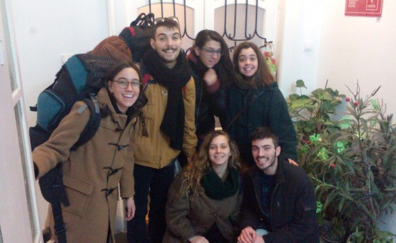 Authentic Belgrade Centre Hostel Fellows from Greece