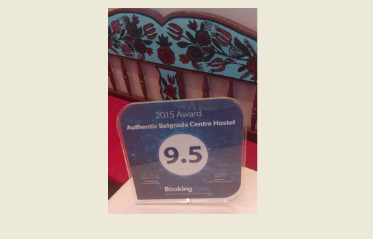2015 Booking.com Award