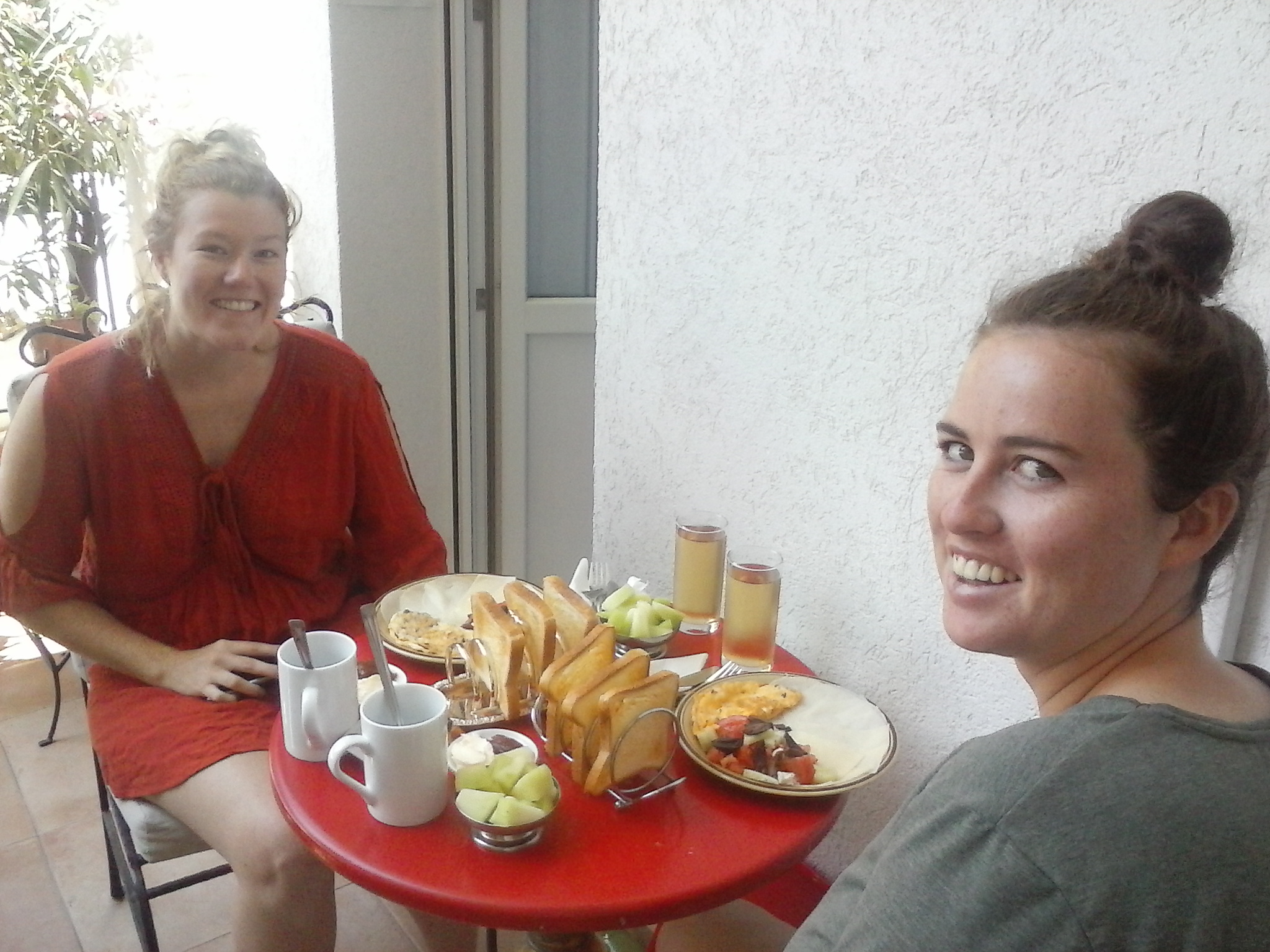 Authentic Belgrade Centre Hostel Georgina and Jessica from Australia