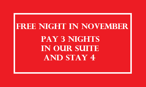 Pay 3 nights stay 4