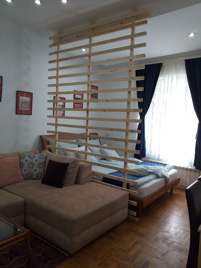 Authentic Belgrade Centre - Apartment Ethnica 1 Split area living room and bedroom