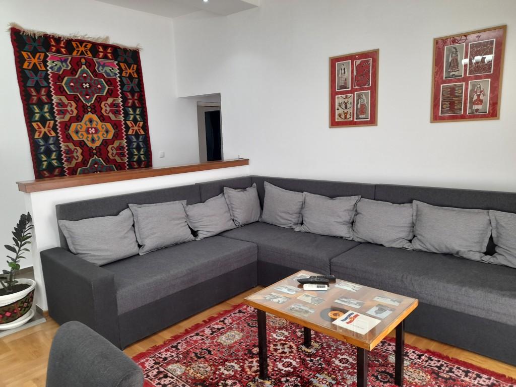 Authentic Belgrade Centre - Apartment Ethnica 2 Living room area
