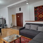 Authentic Belgrade Centre - Apartment Ethnica 2 View on the living room, dining area and kitchen