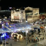Authentic Belgrade Centre Hostel - Ethnica 2, view on the Republic Square