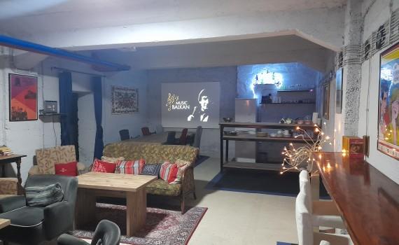 Authentic Belgrade Centre Hostel - Communal lounge
